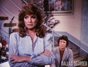 Adoption, Bobby Ewing, Dallas, Linda Gray, Patrick Duffy, Sue Ellen Ewing
