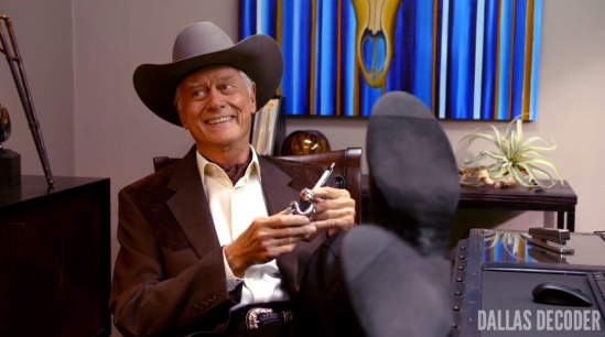 Battle Lines, Dallas, J.R. Ewing, Larry Hagman, TNT