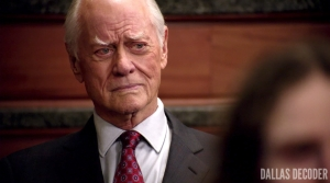 Blame Game, Dallas, J.R. Ewing, Larry Hagman, TNT