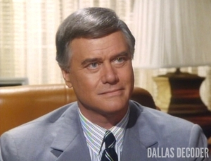 Dallas, J.R. Ewing, Larry Hagman, Nothing's Ever Perfect