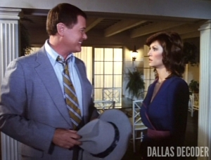 Dallas, J.R. Ewing, Larry Hagman, Love and Marriage, Pam Ewing, Victoria Principal
