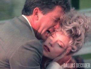April Ewing, Bobby Ewing, Dallas, Patrick Duffy, Sheree J. Wilson, Terminus