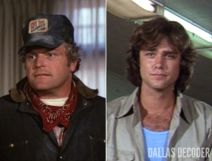 Brian Dennehy, Dallas, Greg Evigan, Luther Frick, Willie Gust
