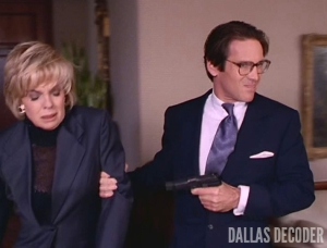 Dallas, Linda Gray, Peter Ellington, Philip Anglim, Sue Ellen Ewing