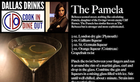 Dallas Drinks - The Pamela featured image