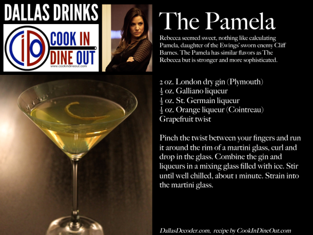 Dallas Drinks - The Pamela