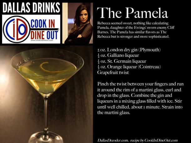 Dallas Drinks - The Pamela