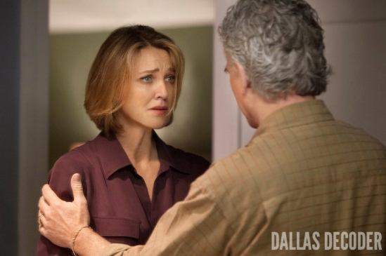 Ann Ewing, Bobby Ewing, Brenda Strong, Dallas, False Confessions, Patrick Duffy, TNT
