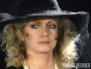 Abby Ewing, Dallas, Donna Mills, Knots Landing, Finishing Touches