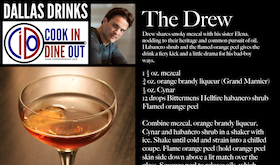 Dallas Drinks - The Drew featured image