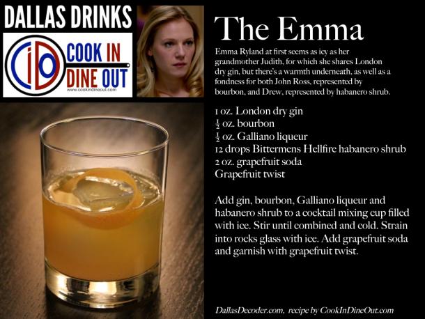 Dallas Drinks - The Emma