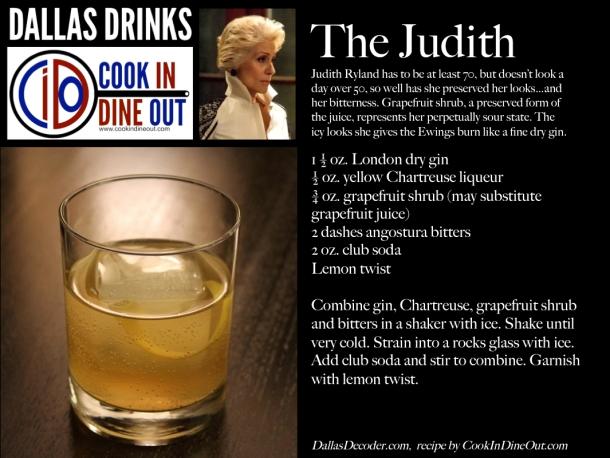 Dallas Drinks - The Judith
