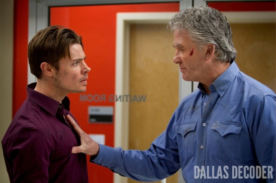Bobby Ewing, Dallas, Guilt and Innocence, John Ross Ewing, Josh Henderson, Patrick Duffy, TNT