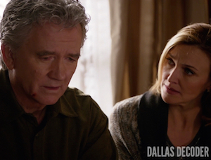 Ann Ewing, Bobby Ewing, Brenda Strong, Dallas, Guilt and Innocence, Patrick Duffy, TNT