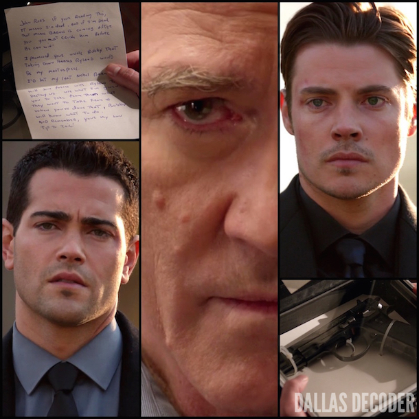 Bobby Ewing, Christopher Ewing, Dallas, Jesse Metcalfe, John Ross Ewing, Josh Henderson, Patrick Duffy, TNT, Who Killed J.R.?