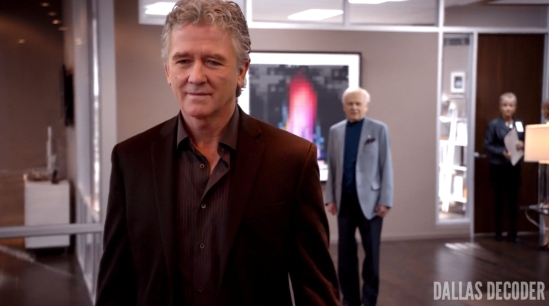 Bobby Ewing, Cliff Barnes, Dallas, Ken Kercheval, Love and Family, Patrick Duffy, TNT