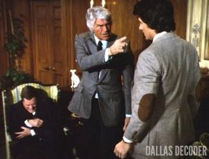 Bobby Ewing, Dallas, Jim Davis, Jock Ewing, J.R. Ewing, Larry Hagman, Patrick Duffy, Wheeler Dealer
