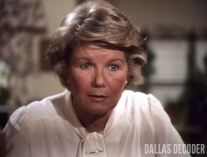 Barbara Bel Geddes, Dallas, Miss Ellie Ewing, Requiem