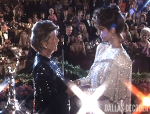 Barbara Bel Geddes, Dallas, Miss Ellie Farlow, Pam Ewing, Winds of Change, Victoria Principal