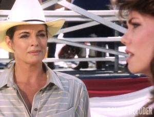 Close Encounters, Dallas, Deborah Shelton, Linda Gray, Mandy Winger, Sue Ellen Ewing