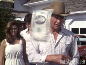 Bobby Ewing, Dallas, Jim Davis, Jock Ewing, Pam Ewing, Reunion Part 2, Victoria Principal