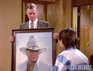 Dallas, Fall of the House of Ewing, John Ross Ewing, J.R. Ewing, Larry Hagman, Omri Katz