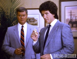 Bobby Ewing, Check and Mate, Dallas, Larry Hagman, J.R. Ewing, Patrick Duffy
