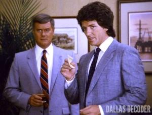 Bobby Ewing, Check and Mate, Dallas, Larry Hagman, J.R. Ewing, Patrick Duffy