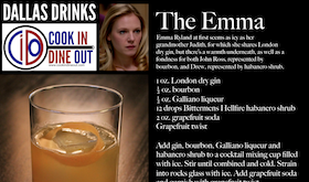 Dallas Drinks - The Emma featured image