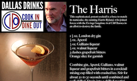 Dallas Drinks - The Harris featured image