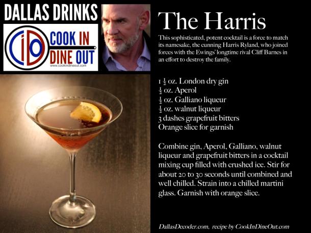 Dallas Drinks - The Harris