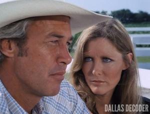 Dallas, Donna Krebbs, Ray Krebbs, Steve Kanaly, Susan Howard, Where There's a Will