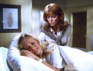 Billion Dollas Question, Charlene Tilton, Dallas, Lucy Cooper, Pam Ewing, Victoria Principal
