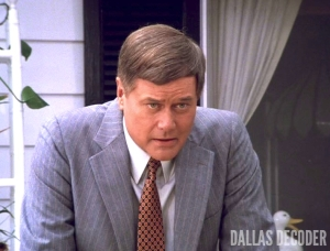Billion Dollar Question, Dallas, J.R. Ewing, Larry Hagman