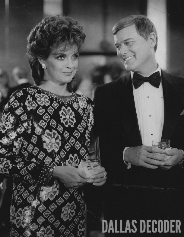 Big Ball, Dallas, J.R. Ewing, Larry Hagman, Linda Gray, Sue Ellen Ewing