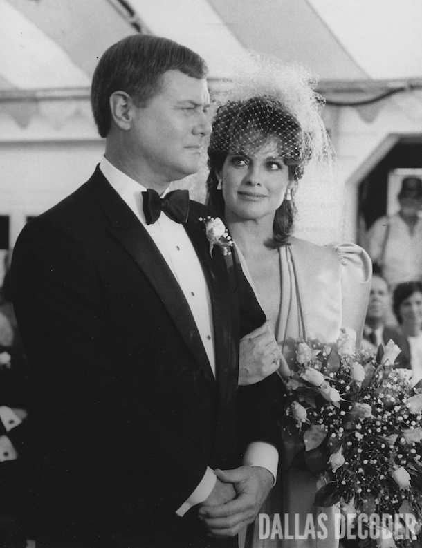 Dallas, J.R. Ewing, Larry Hagman, Linda Gray, Sue Ellen Ewing, Wedding