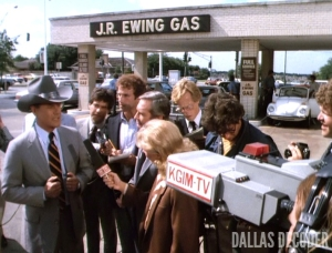 Barbecue Three, Dallas, J.R. Ewing, Larry Hagman
