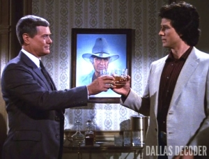 Bobby Ewing, Dallas, Jock's Will, J.R. Ewing, Larry Hagman, Patrick Duffy