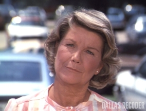 Barbara Bel Geddes, Dallas, Ewing Blues, Miss Ellie Ewing,