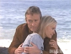 "Gary and Val in ""Knots Landing: Back to the Cul-de-sac"""