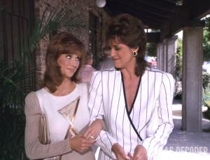 Dallas, Fringe Benefits, Linda Gray, Pam Ewing, Sue Ellen Ewing, Victoria Principal