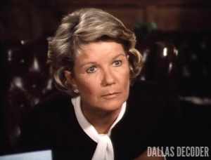 Barbara Bel Geddes, Dallas, Ewing Blues, Miss Ellie Ewing