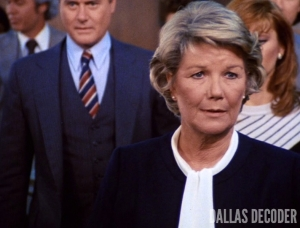 Dallas, Barbara Bel Geddes, Miss Ellie Ewing, Reckoning