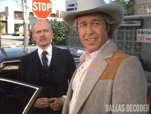 Ben Piazza, Dallas, Ray Krebbs, Steve Kanaly, Sting