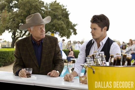 Dallas, John Ross Ewing, Josh Henderson, J.R. Ewing, Larry Hagman