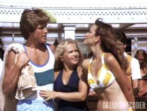 Charlene Tilton, Dallas, Janine Turner, Leigh McCloskey, Lucy Ewing, Mitch Cooper, Susan