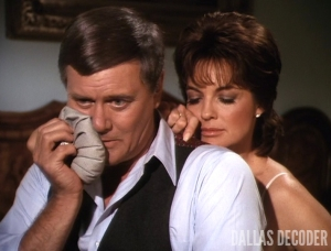 Dallas, Ewing Blues, J.R. Ewing, Larry Hagman, Linda Gray, Sue Ellen Ewing