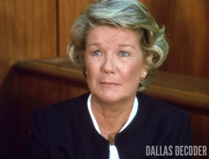 Barbara Bel Geddes, Dallas, Miss Ellie Ewing, Reckoning