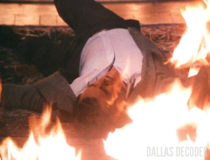 Dallas, Ewing Inferno, J.R. Ewing, Larry Hagman