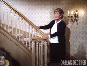 Barbara Bel Geddes, Dallas, Miss Ellie Ewing, Things Ain't Goin' Too Good at Southfork